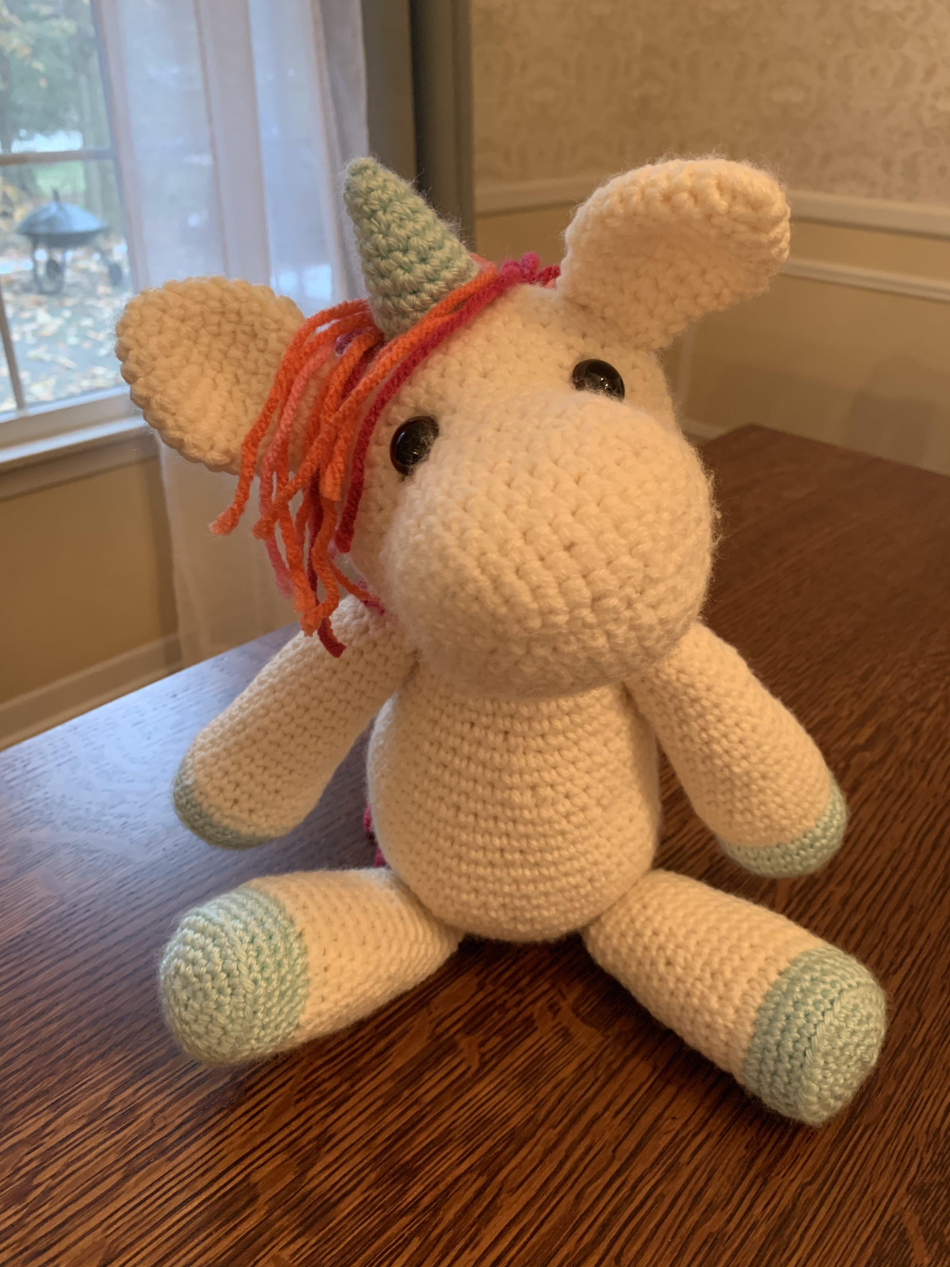 Free Amigurumi Crochet Pattern for Jazzy the Unicorn ⋆ Crochet ... | 4032x3024